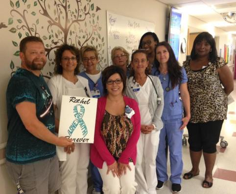 Charles treated the oncology nurses at DRMC to treats